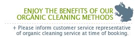 organic green cleaning solutions